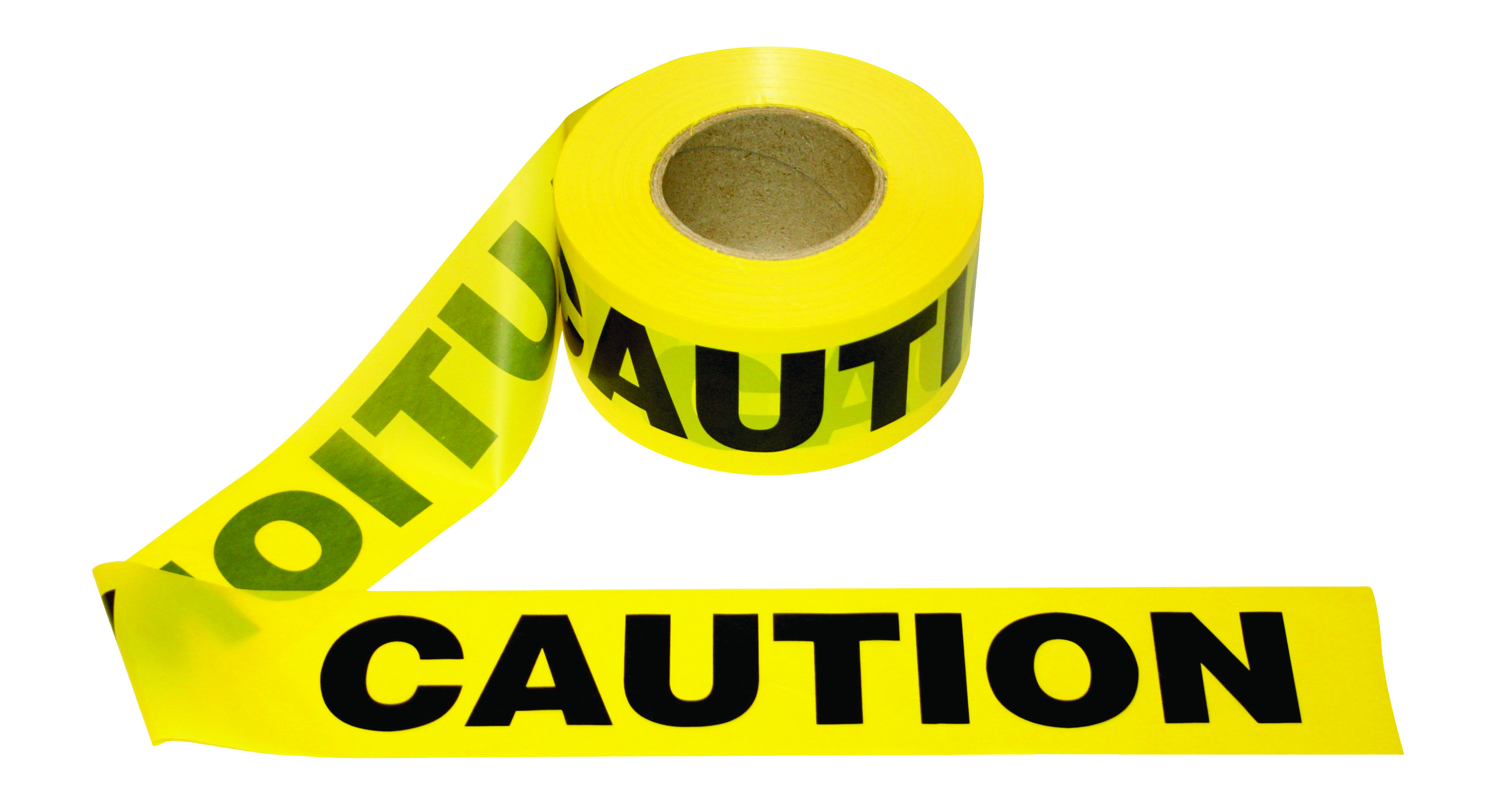 T15101 - Barricade Tape CAUTION-1.5 Mil, CAUTION -----UOM: 1/EA