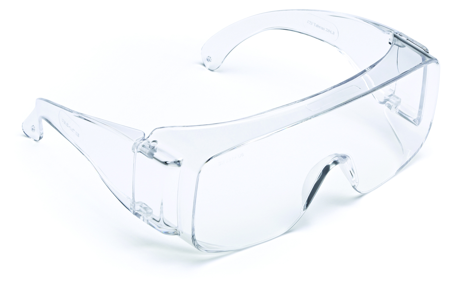 TGV01-100 - 3M™ Tour-Guard™ V Protective Eyewear-Tour-Guard Eyewear-Clear Lens, Clear Frame----UOM: 100/CS