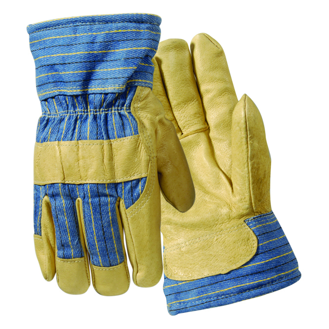 Y0042L - Thermofill™ Lined Leather Palm Gloves-Thermofil™l Lined Leather Palm Gloves-Size L----UOM: 6/PK