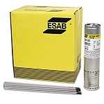Esab--Atom Arc 7018-1 Welding Electrode--Case of 6: 10# Tins