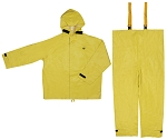 8402--Hydroblast Series-.35mm Neoprene / Nylon Hydroblasting-2 Piece Suit Jacket with Attached Hood and Bib Pants---UOM: 1/PR